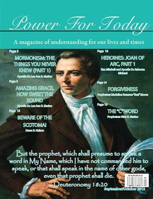 Power For Today Magazine, September/October 2012