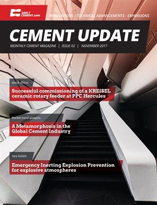 Cement Update Issue 2 - November 2017