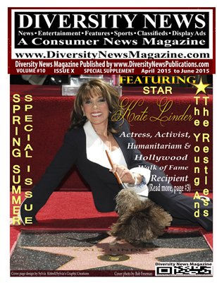 Diversity News Magazine Special Spring and Summer 2015 Featuring The Young and the Restless Star Kate Linder