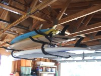 Expandable Ceiling Surfboard & SUP Rack