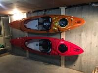 Kayak Hook Storage Rack   Steel Wall Mount ...