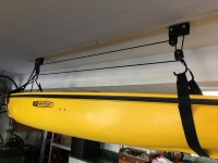 Kayak Ceiling Hoist | Boat Storage Rack | Hi-Lift ...