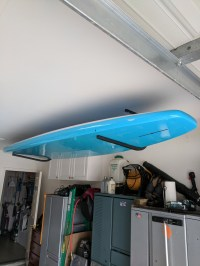 SUP Ceiling Rack | Paddle Board Ceiling Rack | StoreYourBoard