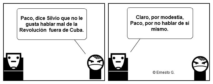 Paco y Poco sobre Silvio Rodríguez