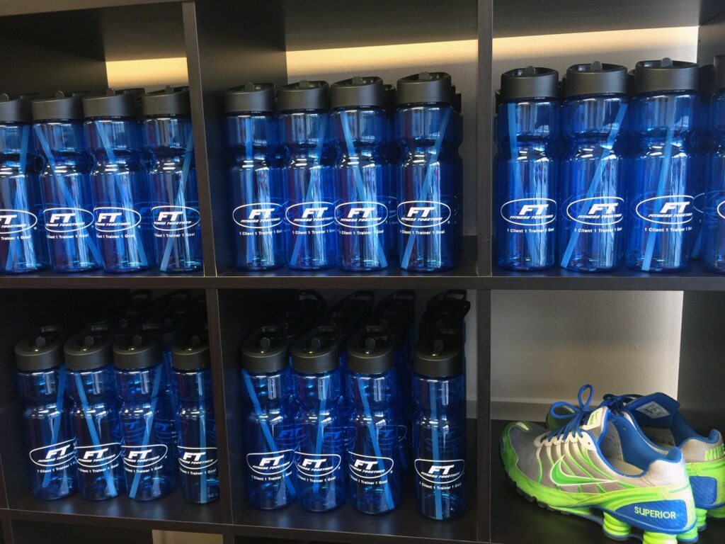 Fitness Together Water Bottles | By Superior Promotions, Meford MA
