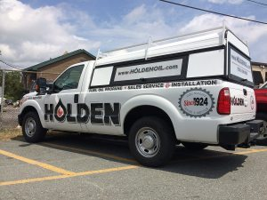 Holden Oil Service Truck | Large Format Print | Medford, MA