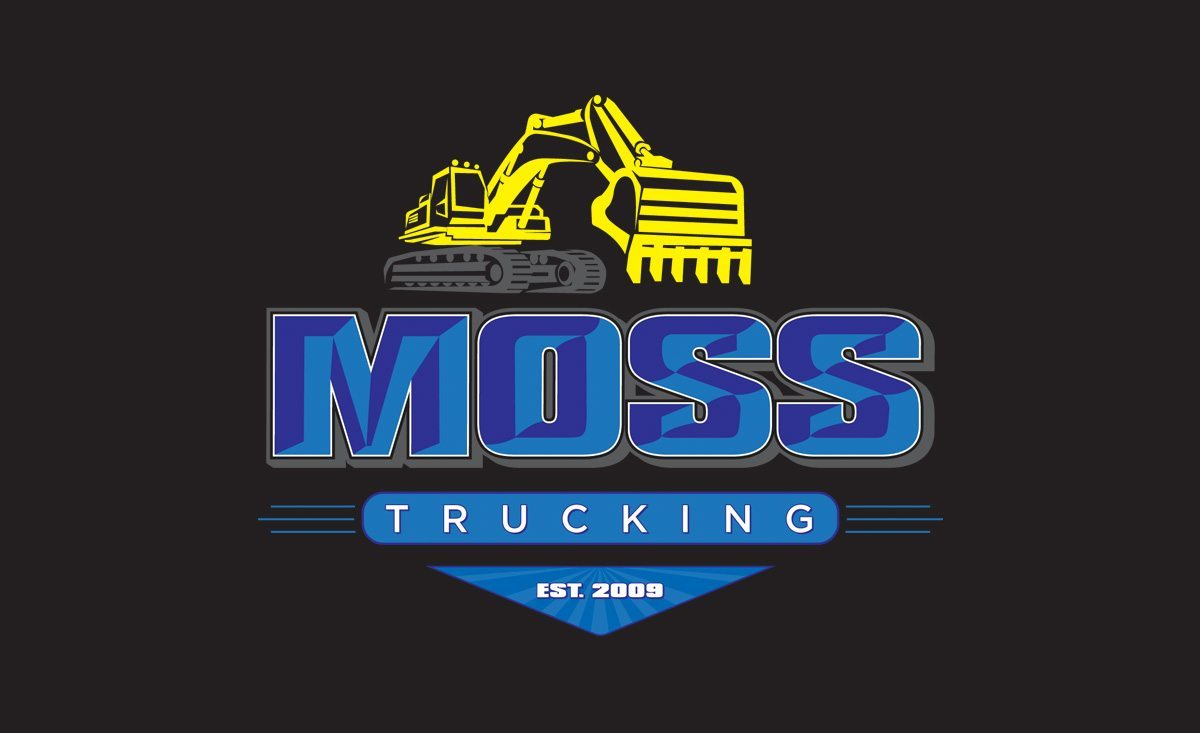 Moss Trucking | Logo Design | Superior Promotions | Medford, MA