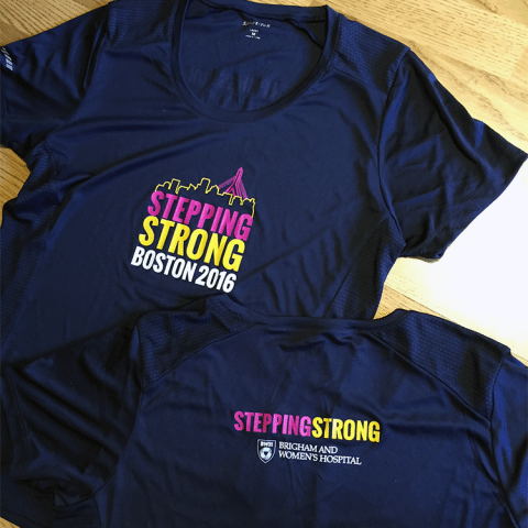 Brigham and Women's Boston Marathon T-Shirt