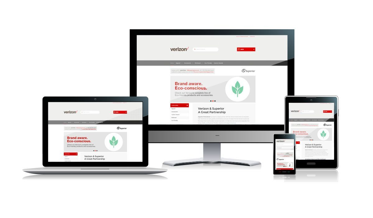 Verizon Web Store | Responsive Website Design