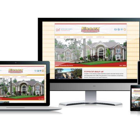 Essex Seamless Gutters Website