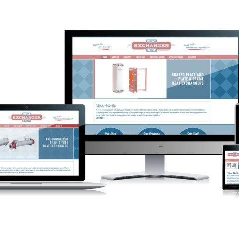 Heat Exchanger Shop Website