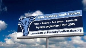 Peabody Youth Hockey Billboard