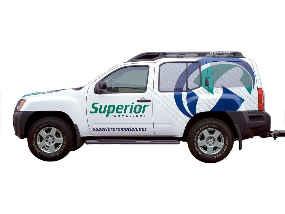 Superior Truck Wrap   Large Format Print