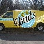 T.T. Buds Van Wrap   Large Format Print