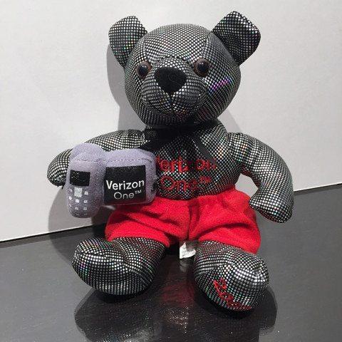 Verizon Beanie Bear