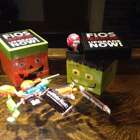 Verizon Halloween Packaging