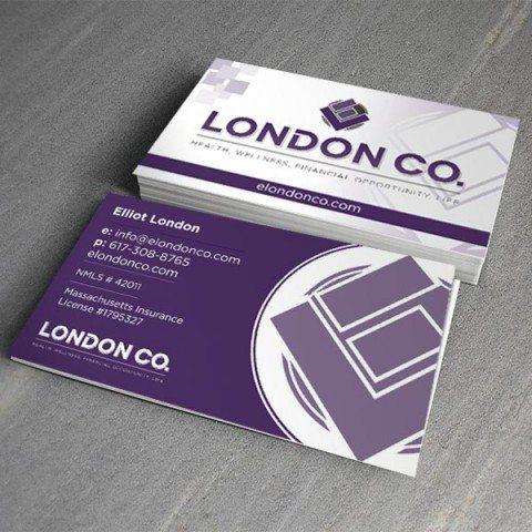 ELondon Co. Business Card