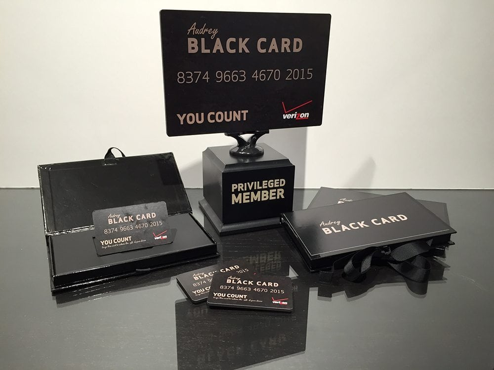 Verizon Black Card