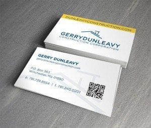 Gerry Dunleavy Business Card