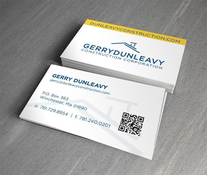Gerry Dunleay Business Card