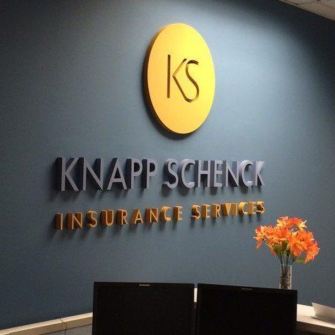 Knapp Insurance Interior Signage