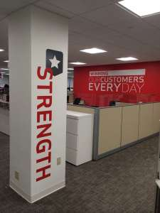 Interior Wall Graphic | Verizon