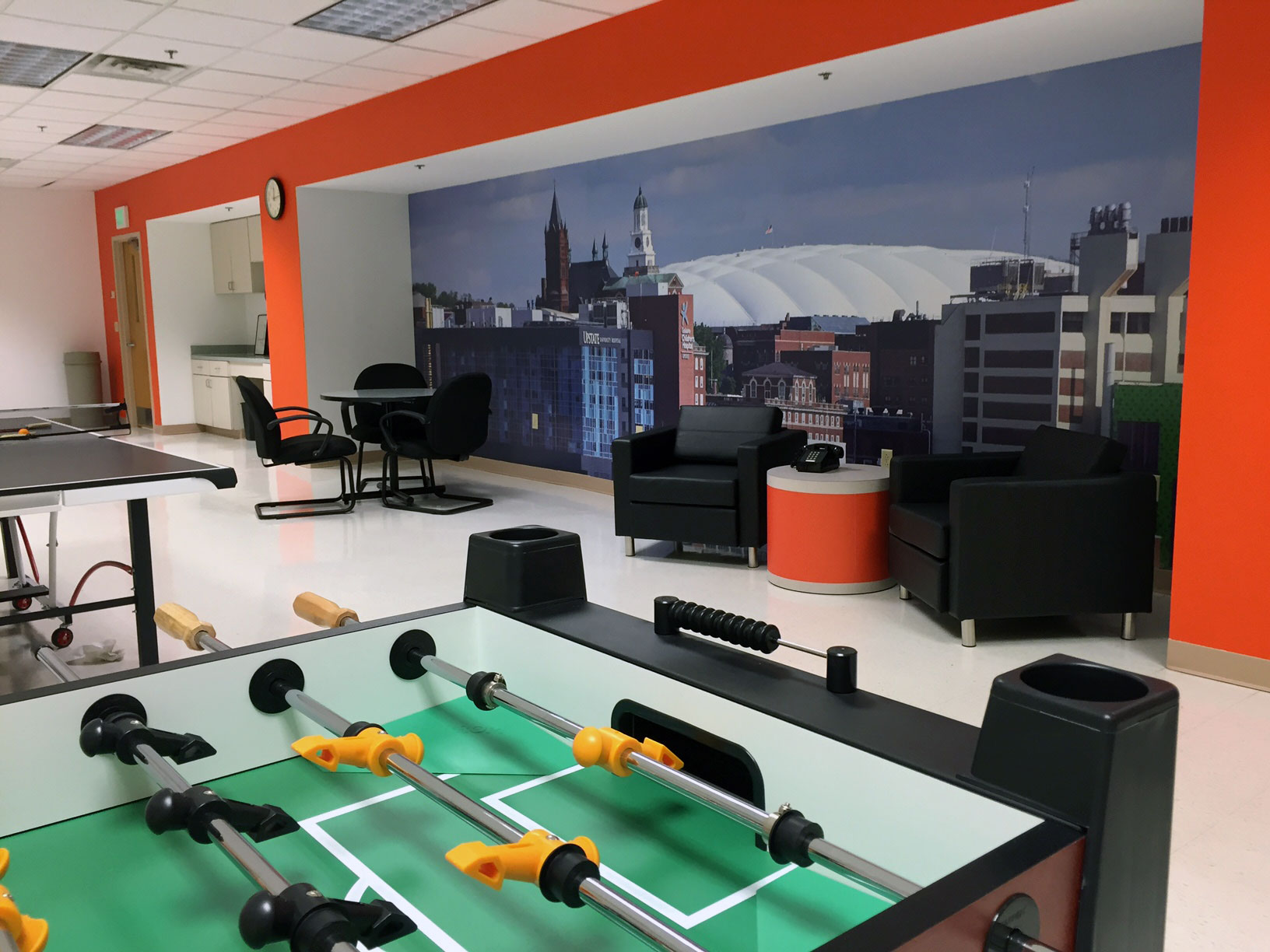 Syracuse University Rec Room