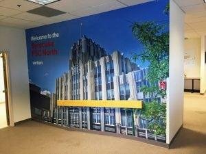 Verizon Wall Mural | Syracuse FSC North