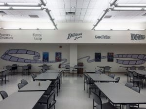 Verizon Movie Themed Cafeteria | Verizon Syracuse
