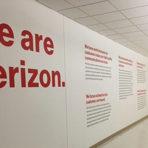 Verizon Wall Credo   Verizon Syracuse