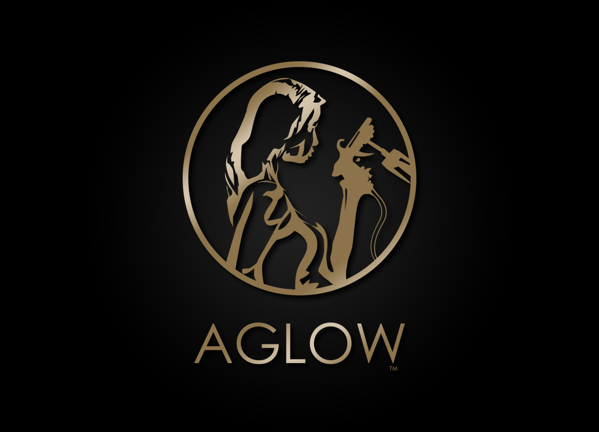AGLOW Case Study | Log Design, Graphic Design, Website Design, Large Format Print, Digital Print