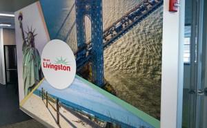 We Are Livingston Wall Mural | Large Format Print | Medford, MA - Boston, MA