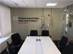 Great Ideas Wall Mural | Large Format Print | Medford, MA - Boston, MA