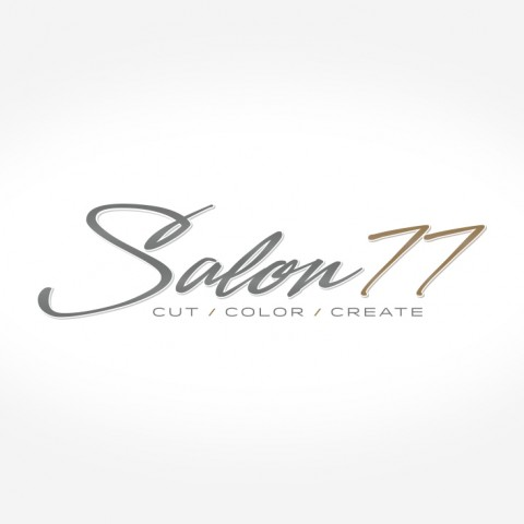 Salon77 Logo Design