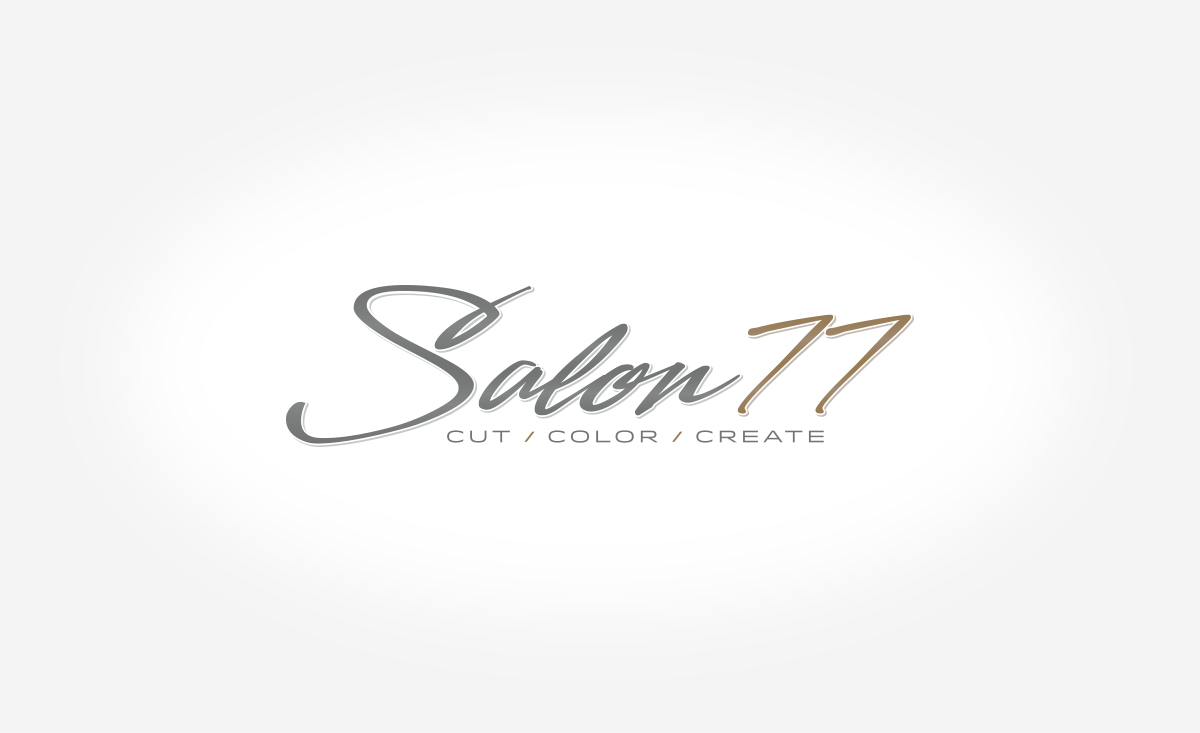 Salon77 Logo Design