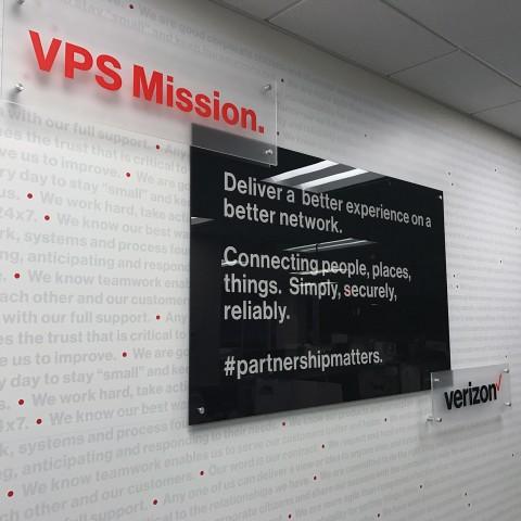 VPS Mission - Standoff Signage   Large Format & Display
