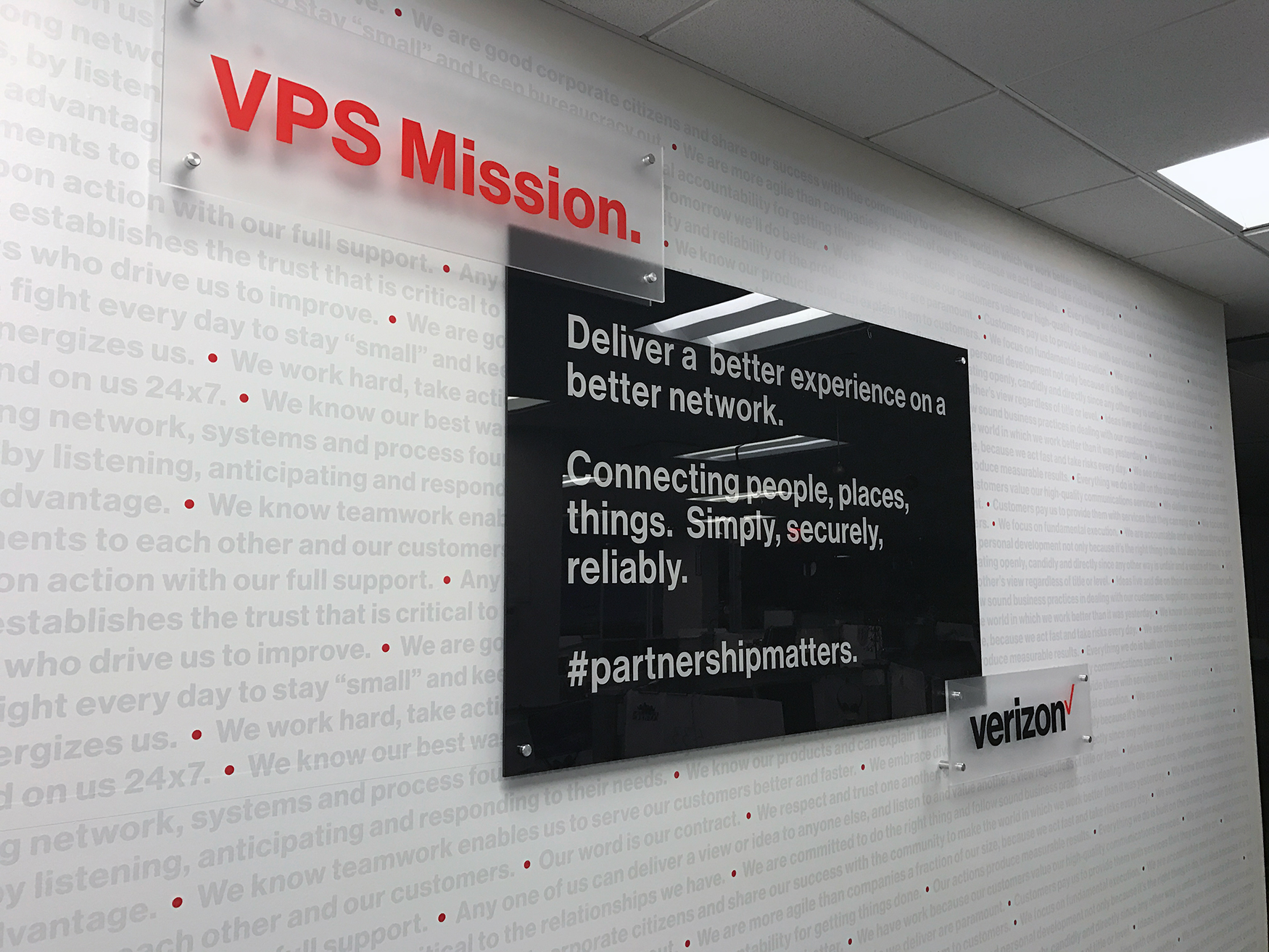 VPS Mission - Standoff Signage | Large Format & Display