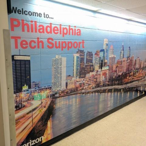 Philadelphia Tech Support Mural