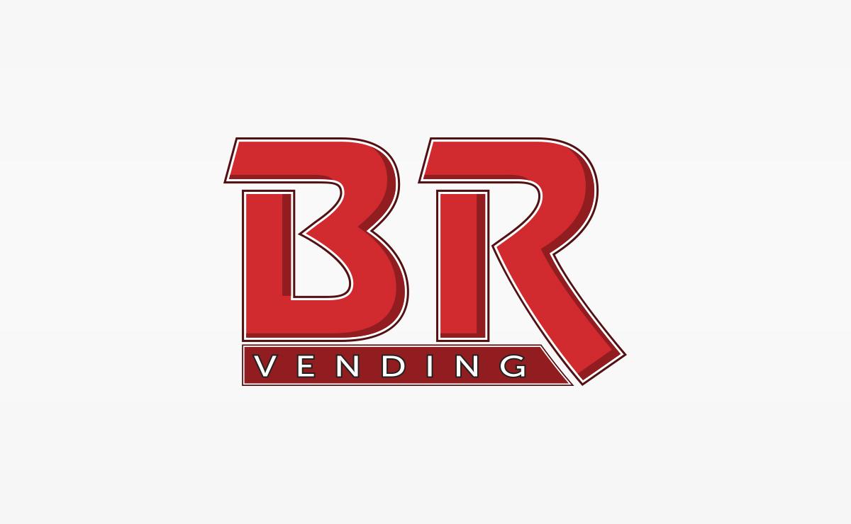 BR Vending Logo | Logo Design, Graphic Design | Boston, MA | Medford, MA