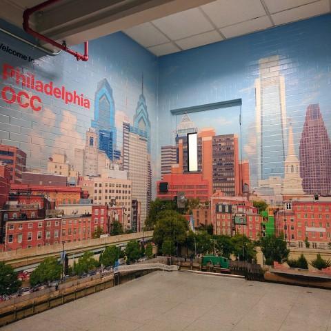 Verizon Philadelphia Wall Mural