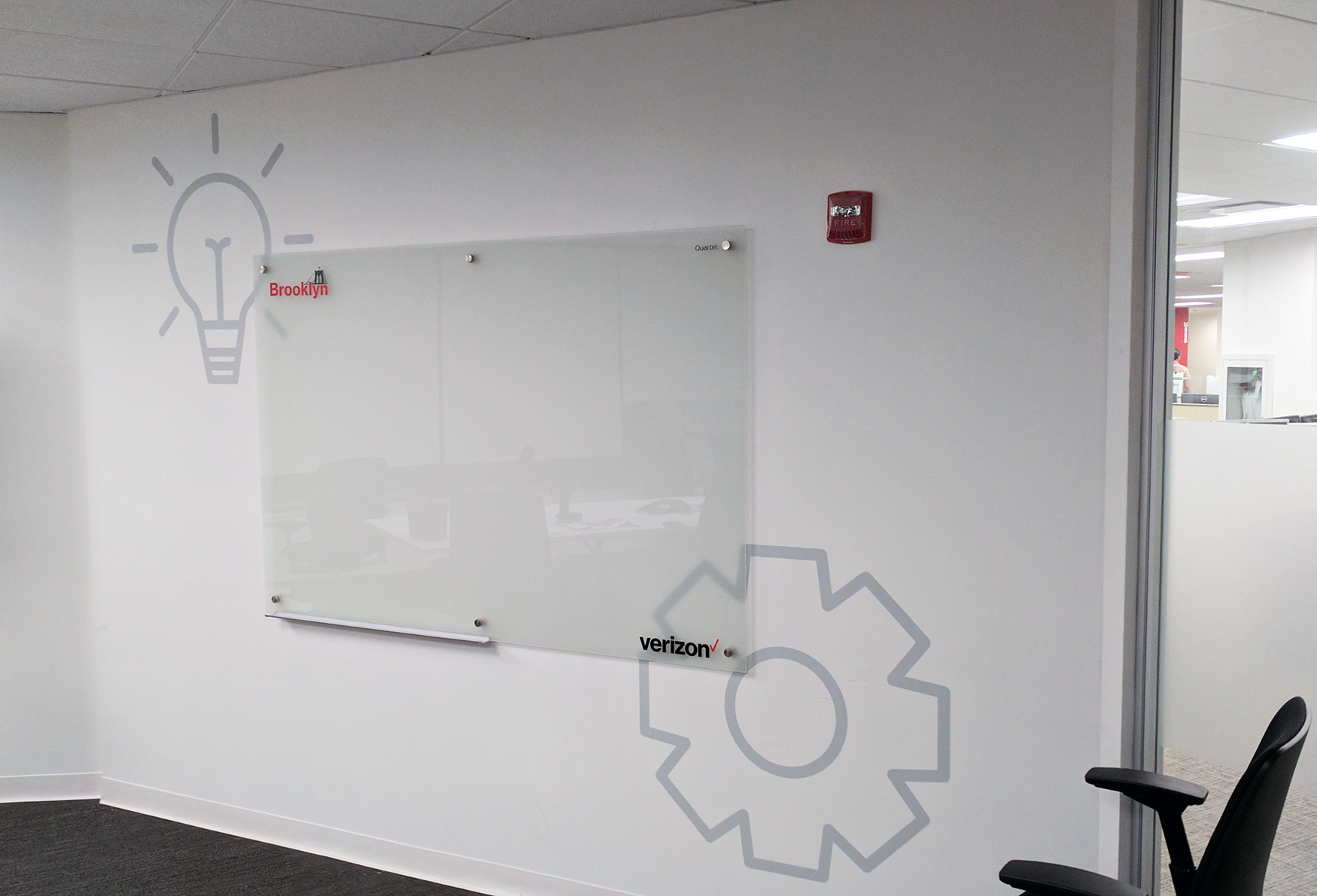 Custom White Board | Verizon | Digital Printing | Boston, Medford