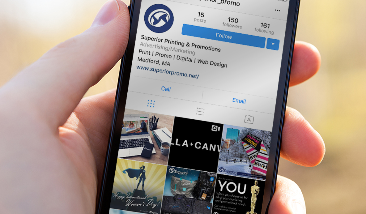 Marketing on Instagram | Marketing & Advertising | Superior Promotions | Medford | Boston