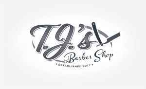 TJ.s Barber Shop Logo | Logo Design | Medford, MA