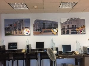 Direct Print Canvas in Pittsburgh