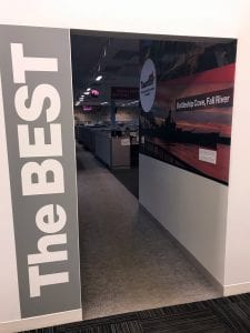 Interior Wall Graphics at Verizon's Taunton, MA Office