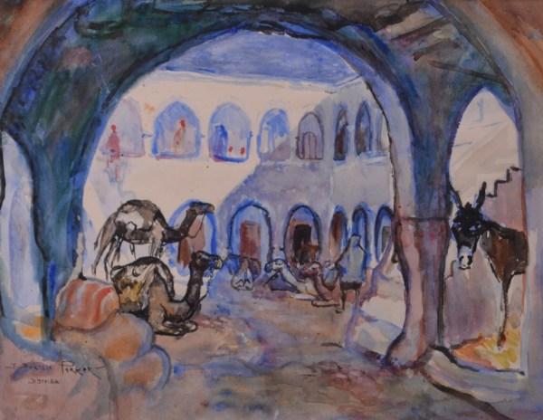 Delisle Parker John Frederick 1884-1962 Djerba