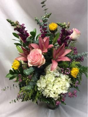 A 4 Star Customer Reviewed Flower Arrangement Designed by Flowers of Fort Lauderdale in Fort Lauderdale, FL