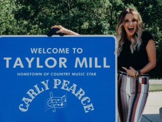 Thieves steal sign in Taylor Mill, KY honoring Carly Pearce