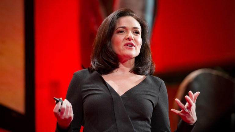 Image result for sheryl sandberg ted talk
