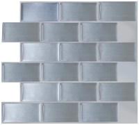 "Art3d Peel and Stick Kitchen Backsplash Wall Panels, 12"" x ..."
